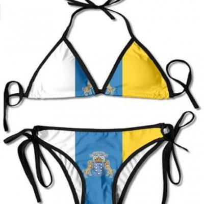 Canary Islands Flag Biking