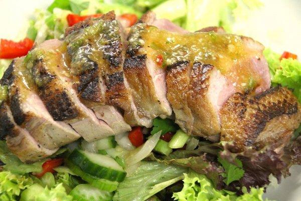 Fusion Duck Salad